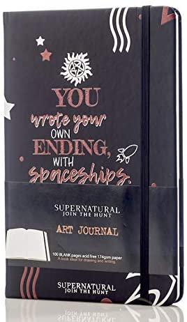 Supernatural Con*quest Dean Winchester Join the Hunt Art Journal