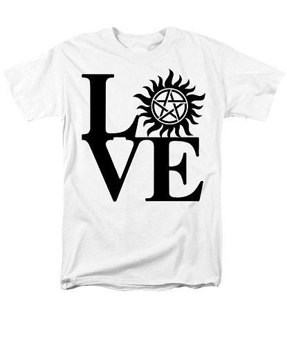 Supernatural Ipurgatory Love Symbol Men's T-Shirt