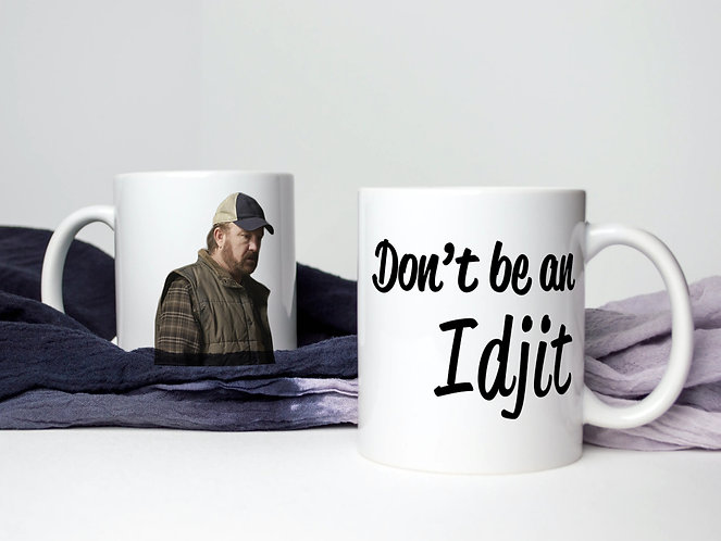 Supernatural Bobby Don't Be An Idjit Mug