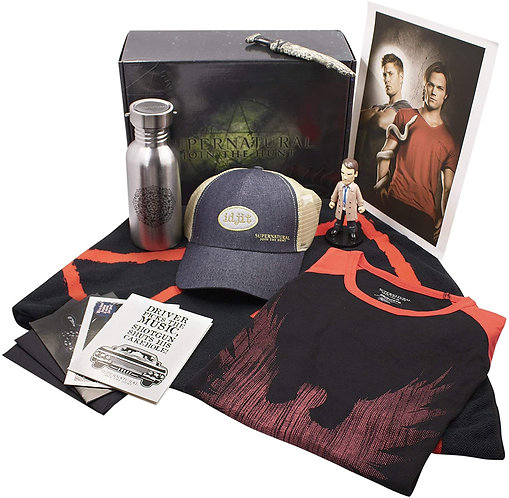 Supernatural Ipurgatory 8 Item Merchandise Collection Box I
