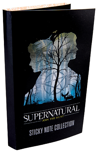 Supernatural Ipurgatory Blue Silhouette Sticky Note Collection