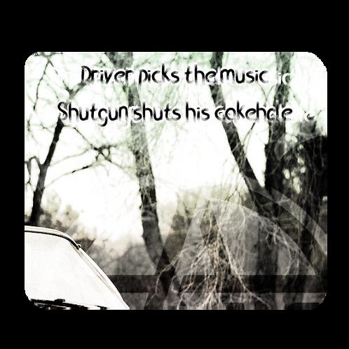 Supernatural Ipurgatory Driver Picks the Music Mousepad