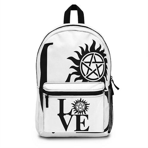 Supernatural Love Anti-Possession Symbol Backpack