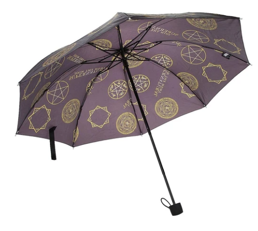 Supernatural Ipurgatory Devil Trap Pentagram Icons Umbrella