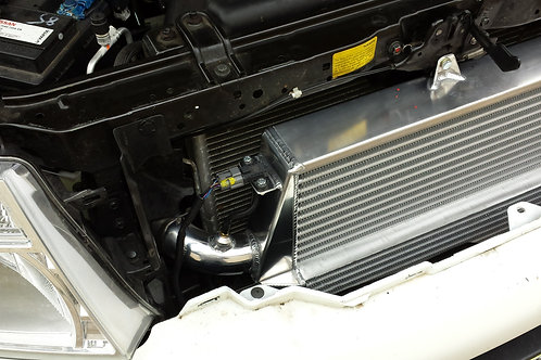 Nissan D40 2.5 Stepped Front Mount Intercooler Kit