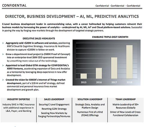Director Business Development AI ML Resu