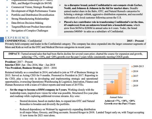Highly Strategic  Branded Document Development  (Resume, LinkedIn, Bios, Cover Letters)