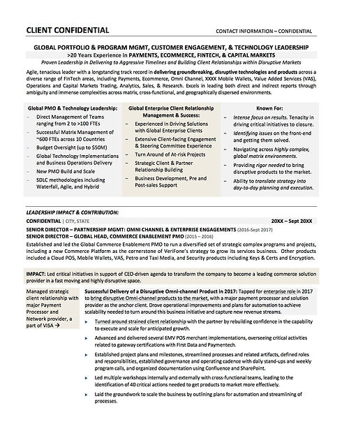 Technology Global PMO Leadership_Sample