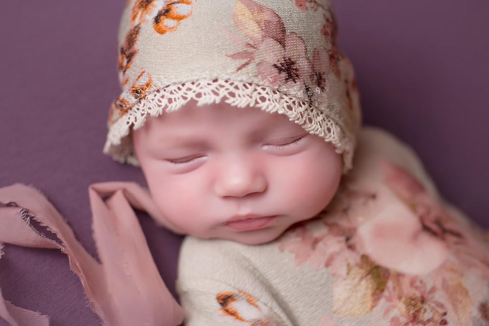 Sleeping Newborn Photograph