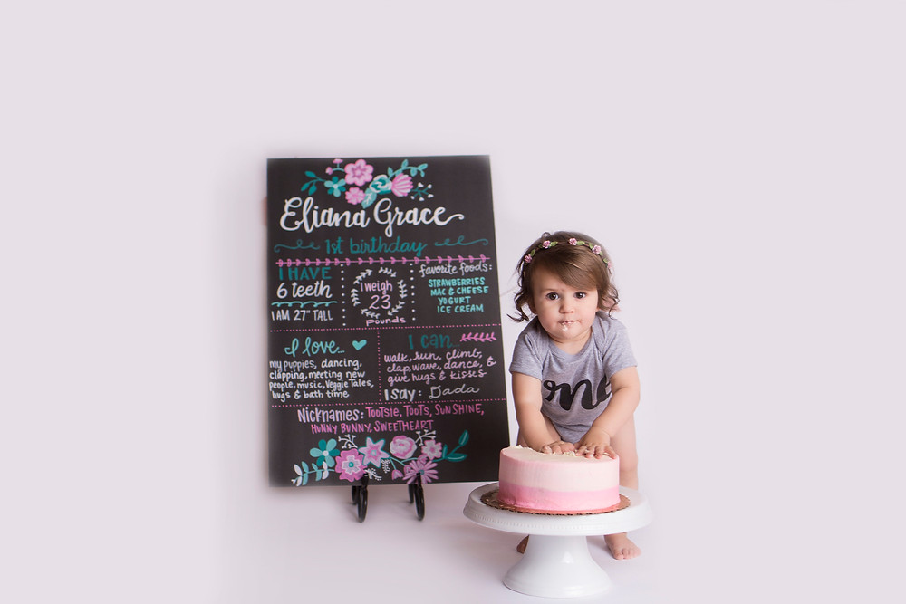 Cake Smash Birthday Sign