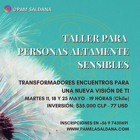 TALLER PARA PERSONAS ALTAMENTE SENSIBLES