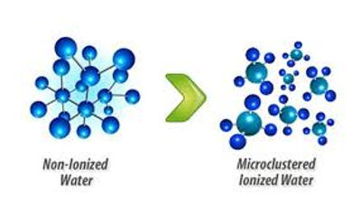 agua hidrogenada molecular