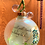 """Thumbnail: Glass Poetry Ornament """"Look"""""""