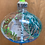 """Thumbnail: Glass poetry ornament: """"Frog"""""""