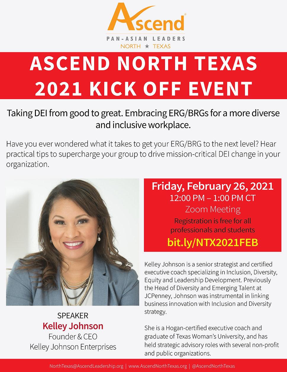 Ascend North Texas 2021 Kick off event _