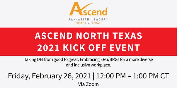 Ascend North Texas 2021 Kick off Banner-
