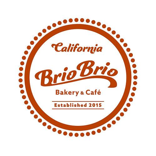 Brio Brio 応援ステッカー