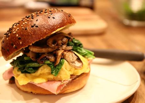 Morning burger