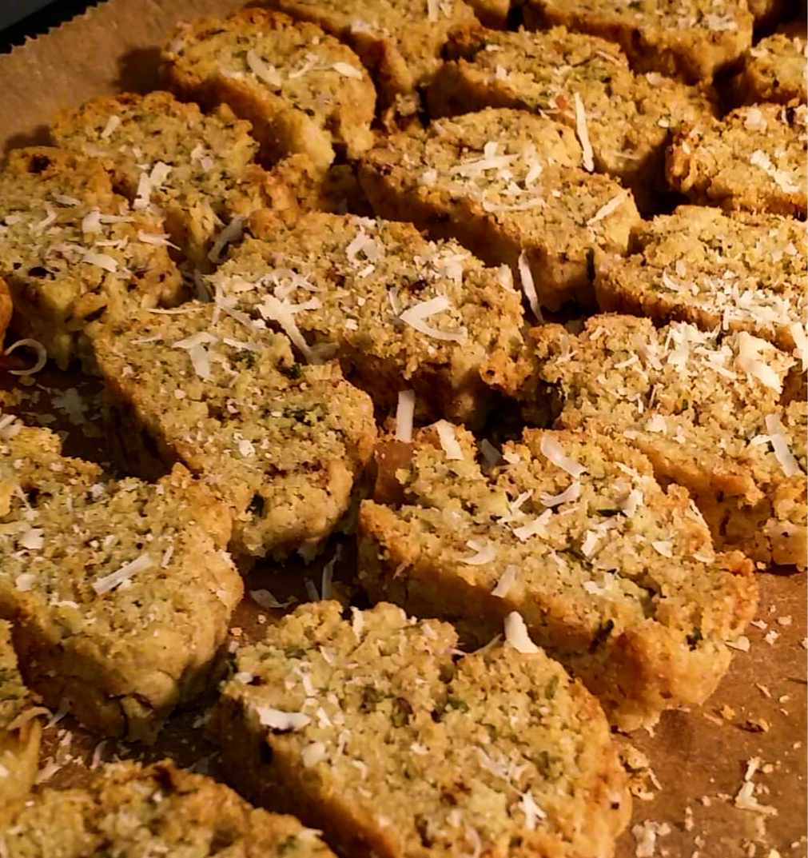 Thyme & Parmesan Biscotti