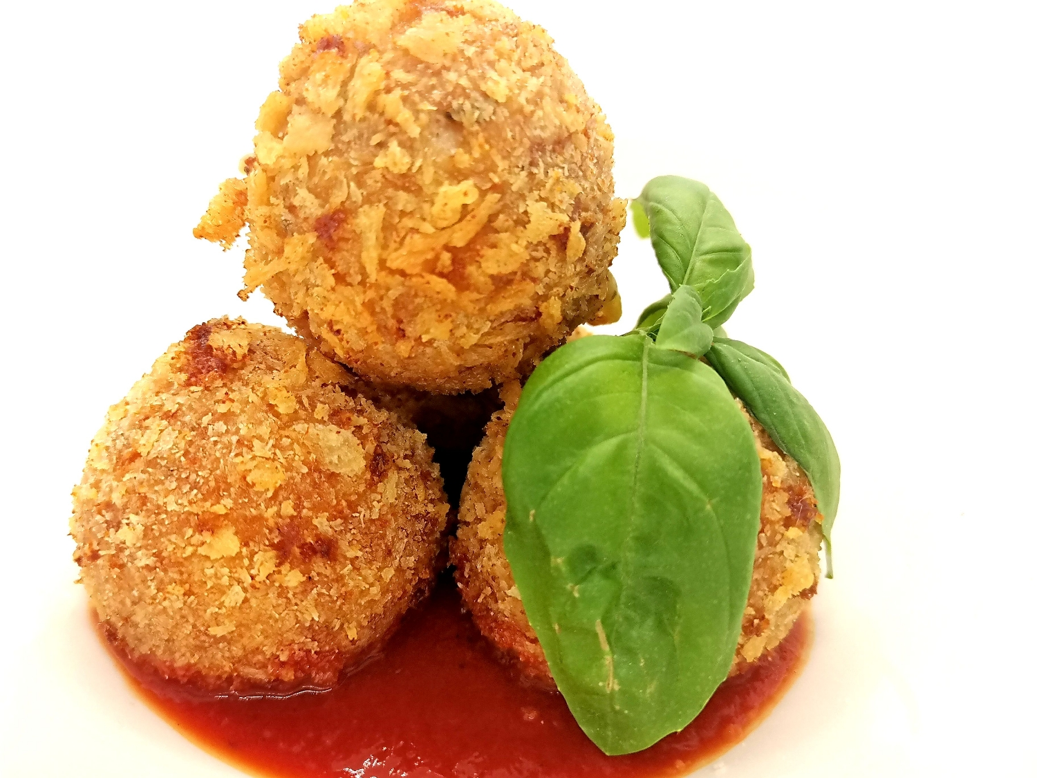Smoked Haddock and Mozzarella Arancini