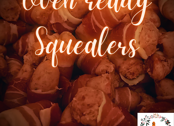 Oven-ready Squealers