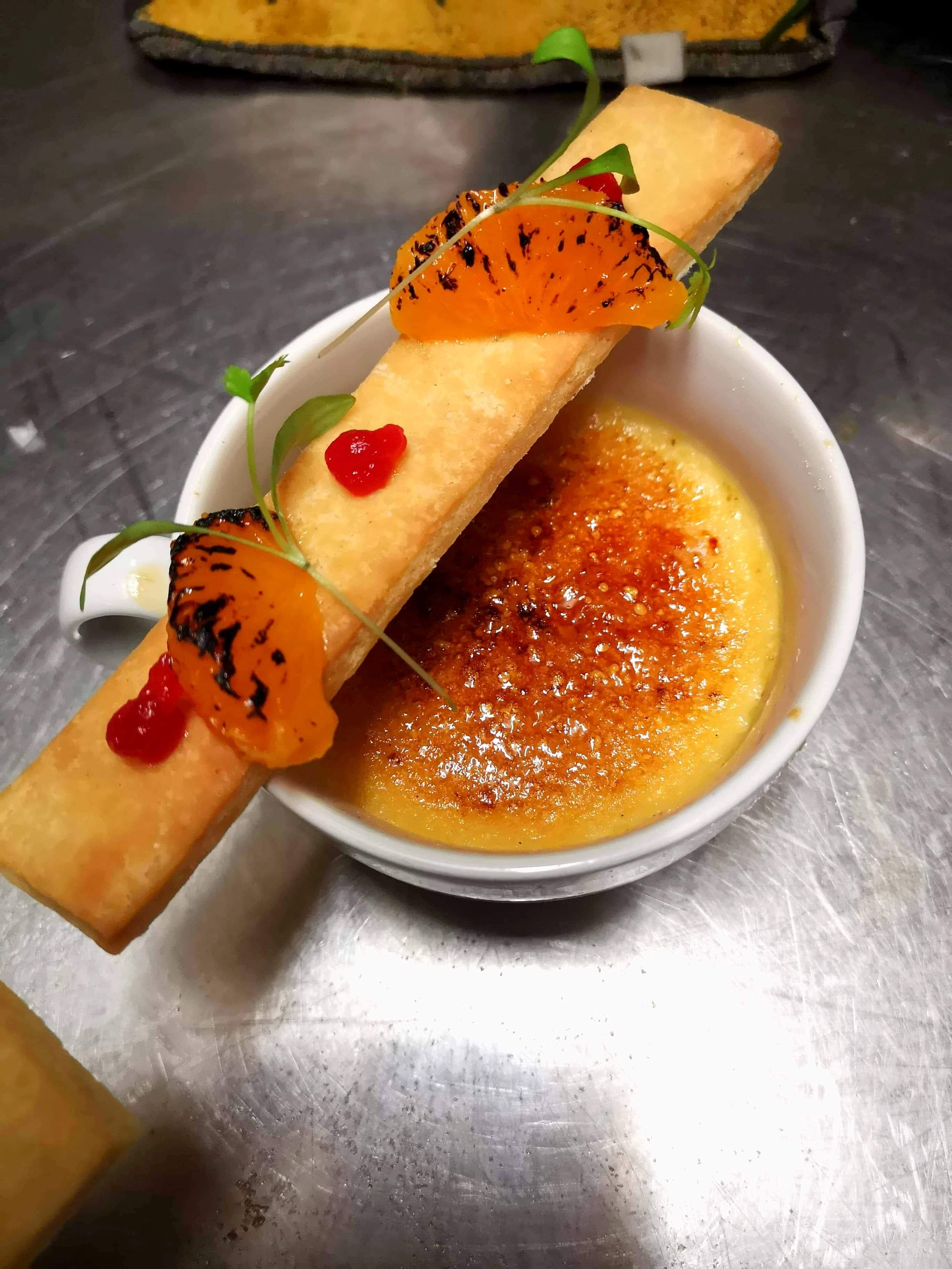 Clementine Creme Brulee