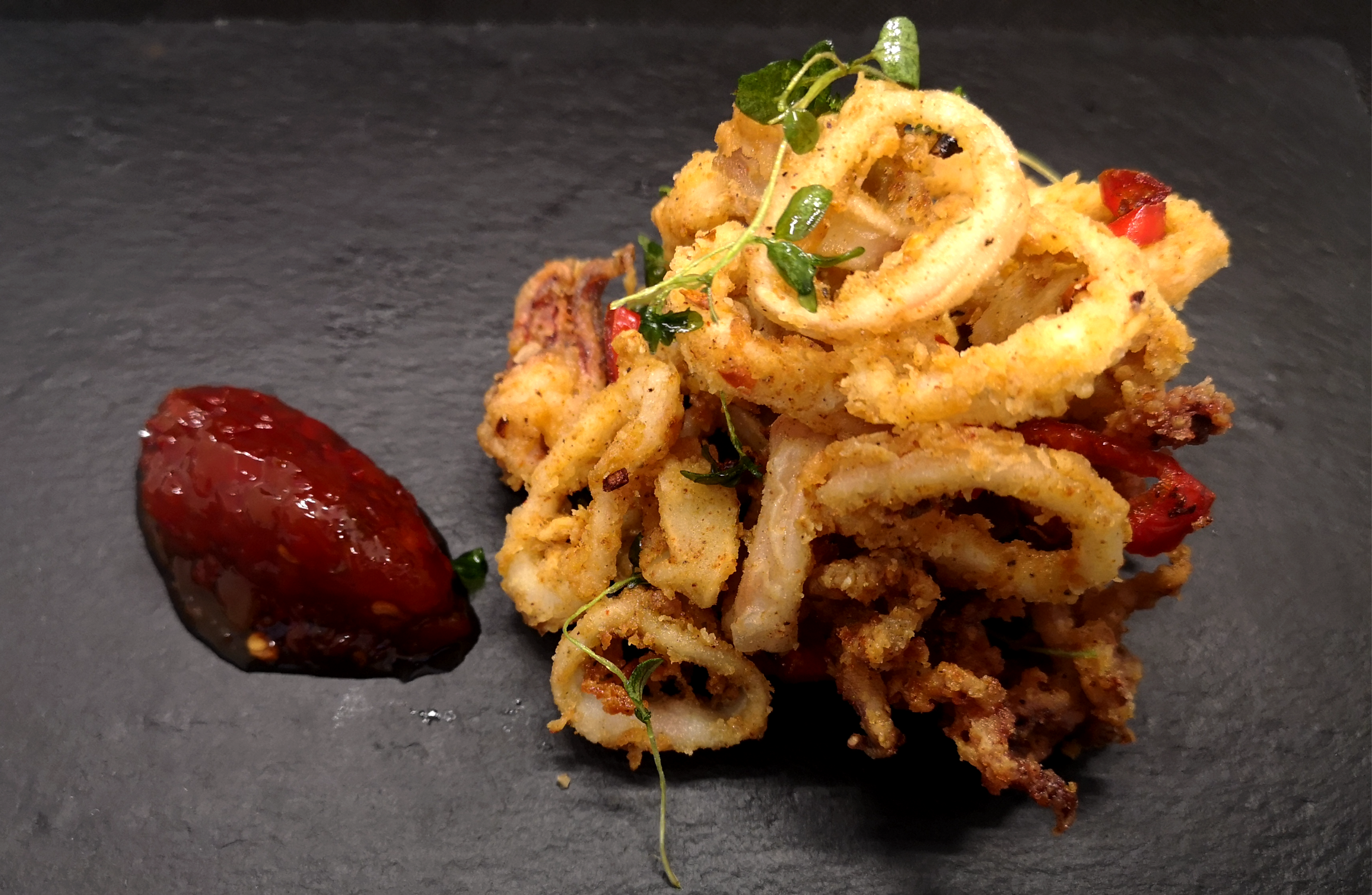 Salt and Chilli Baby Squid