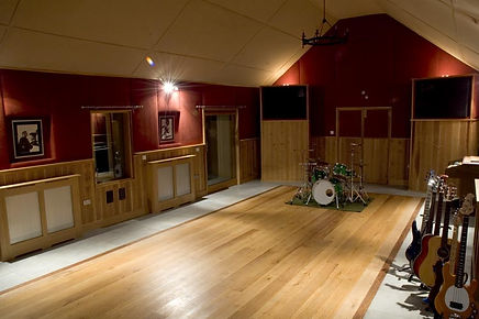 Monkey Puzzle House Residential Recording Studio Live Room