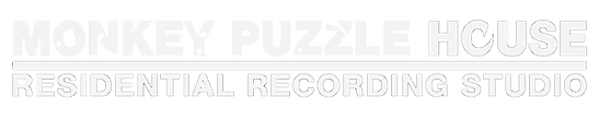 monkey puzzle house residential recording studio logo