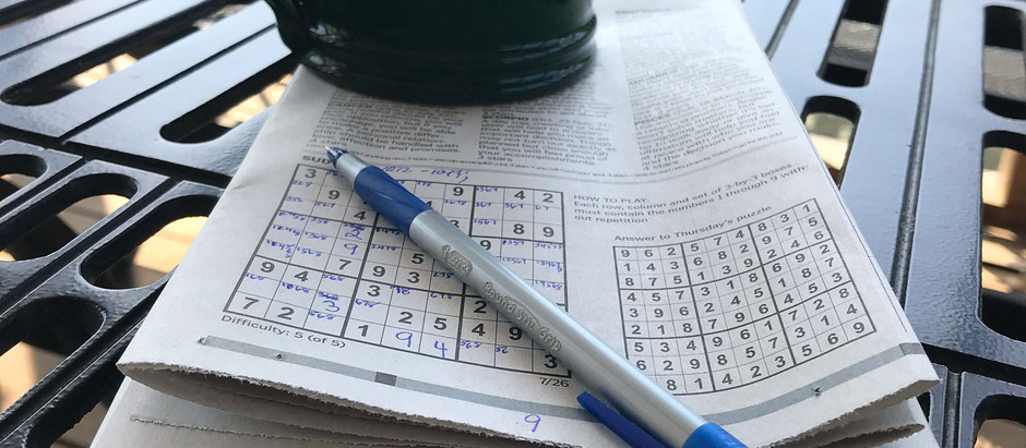 What Sudoku Taught Me About Mindfulness