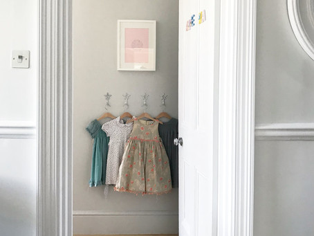 One Lucky Little Girl - my 5 year olds bedroom update