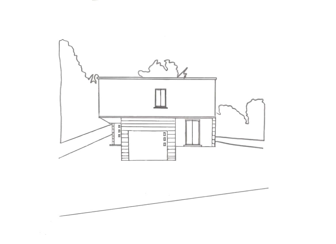 Réhabilitation maison d'architecte