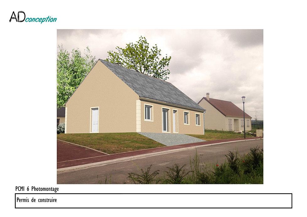 Adconception maison individuelle permis de construire for Maison a construire 37