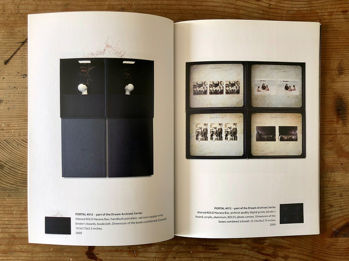 Printed Art Exhibition Catalog