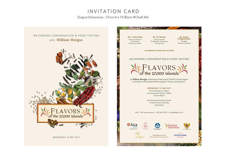 Printed Invitation Card
