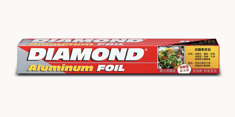 Diamond Foil Sticker