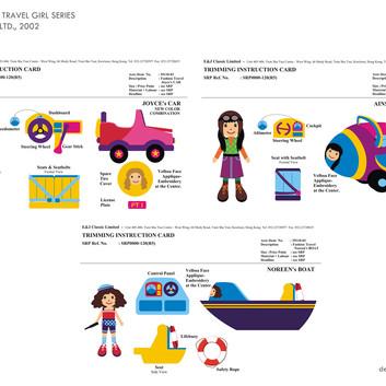Doll & Accessories Designs