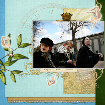 Digital Scrapbooking Layout/Quickpage