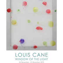 Louis Cane : Window of The Light