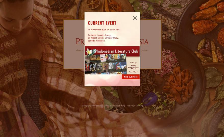 Preserve Indonesia Website