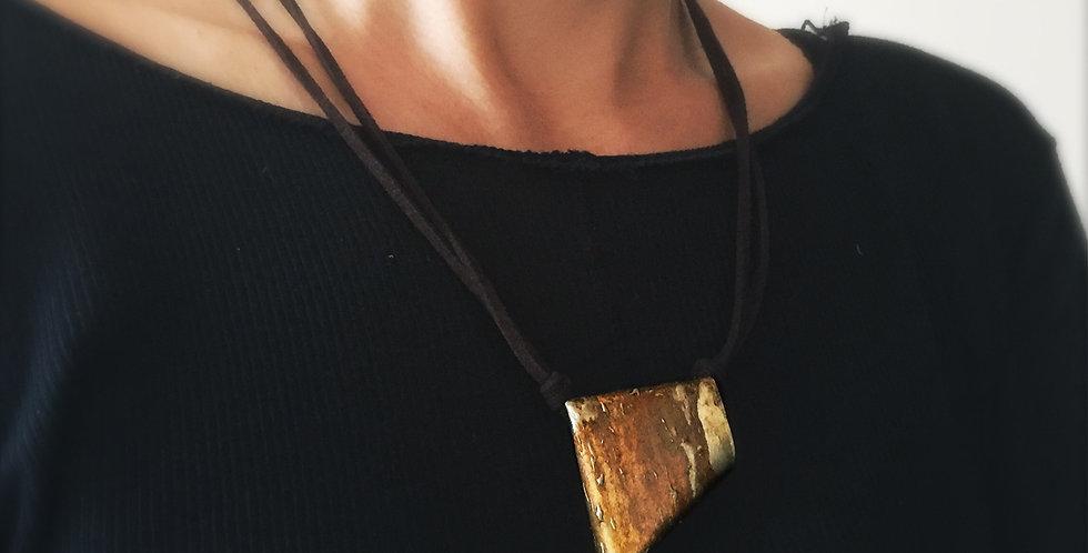 suede necklace 1618