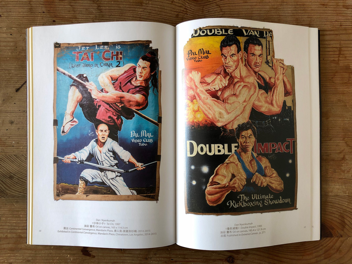 Kung Fu in Africa Book - Artwork Pages