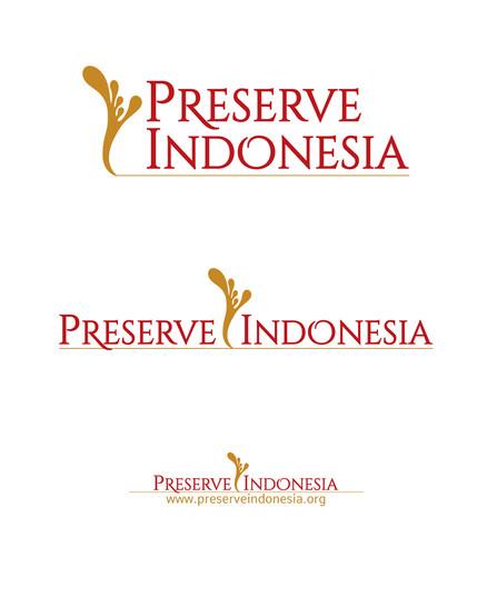 Preserve Indonesia Logo Set