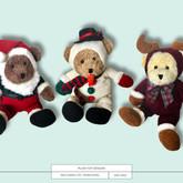 Plush Toys Designs - Christmas/Winter
