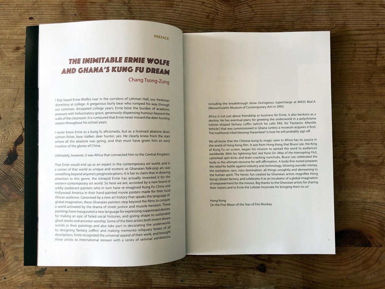 Kung Fu in Africa Book - Inside