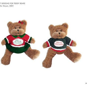 Teddy Bear Xmas Outfit Designs