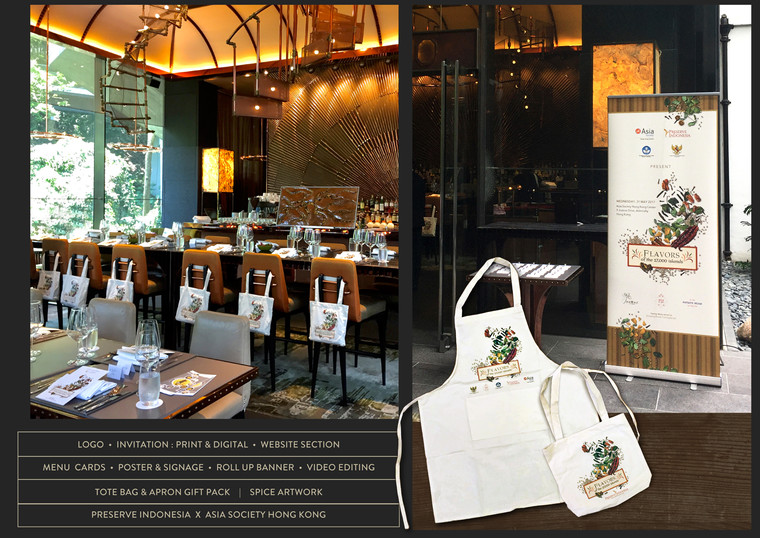 The Tote Bag, Apron and Roll-Up Banner