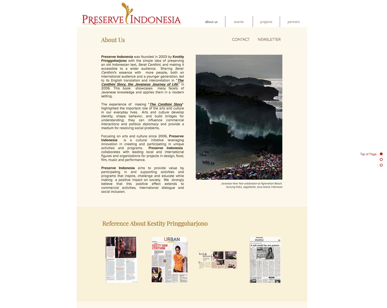 About Preserve Indonesia