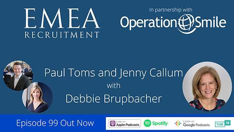 Debbie Brupbacher EMEA Recruitment