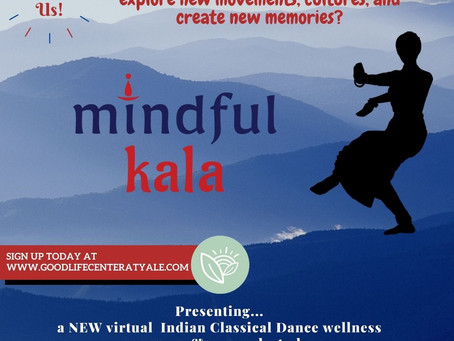 Digital 4-Week Mindful Kala Program & Study for all Yale Students!